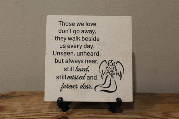 Those We Love Memorial Tile