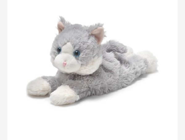 13″ Warmies – Gray Cat