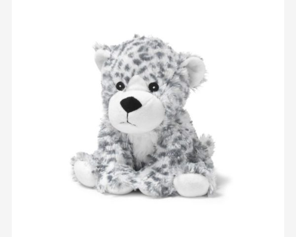 13″ Warmies – Snow Leopard