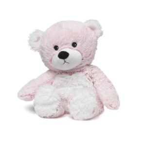 13″ Warmies – Pink Marshmallow Bear