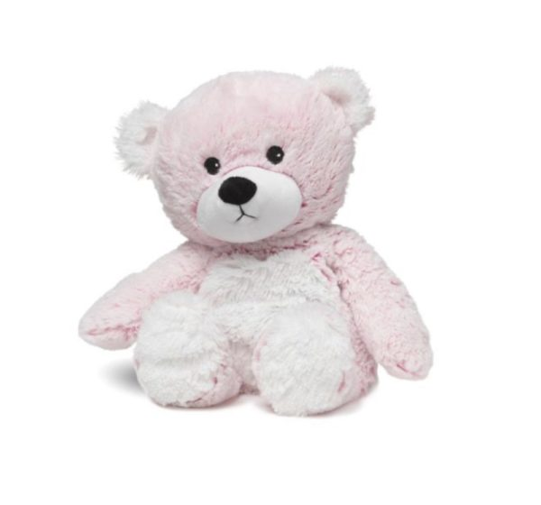 13″ Warmies – Pink Marshmallow Bear