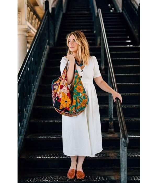 Sari Shop Slouchy Bag