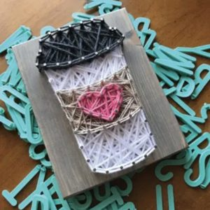 Coffee Mini String Art Kit - DIY