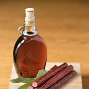 Sunrise Snack Stick – maple & sage flavored 90% lean beef & pork