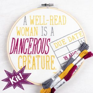 "Dangerous Creature 8"" Embroidery Kit"