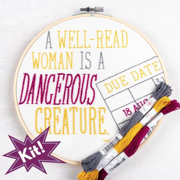 Dangerous Creature 8″ Embroidery Kit