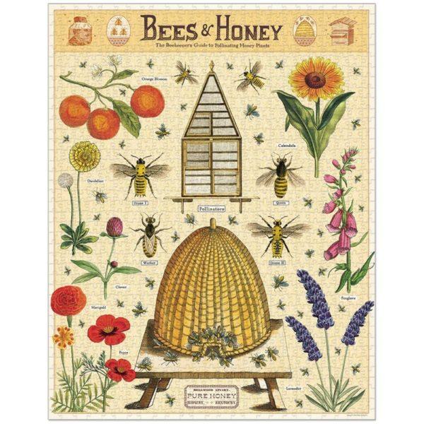Vintage Bees, 1000 pc Puzzle