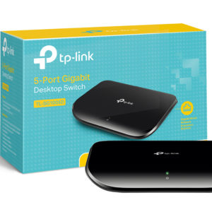 TP-Link 5 Port Gigabit Ethernet Network Switch on shopiowa.com
