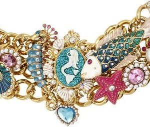 Betsy Johnson under the sea bracelet