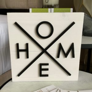 photo of HOME Sign on shopiowa.com