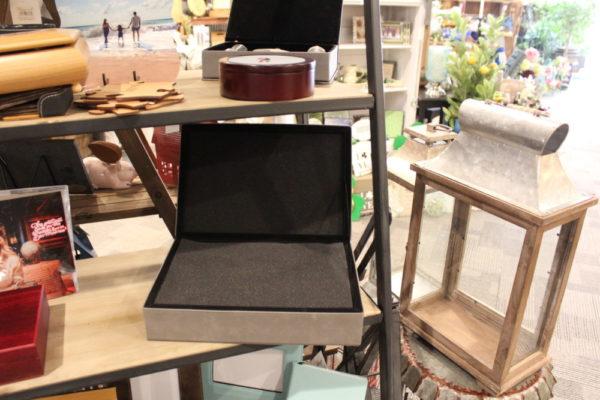 Leatherette Keepsake Box