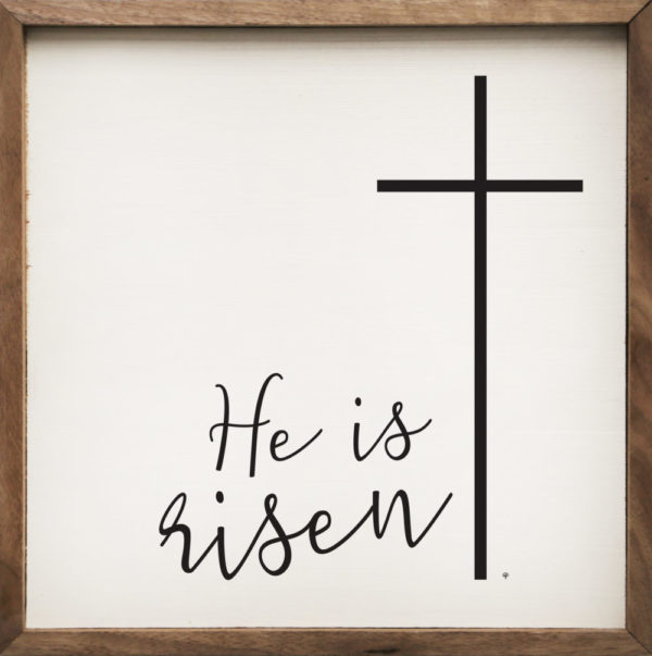 photo of He is Risen - Kendrick Home Wood Sign, Shop Iowa