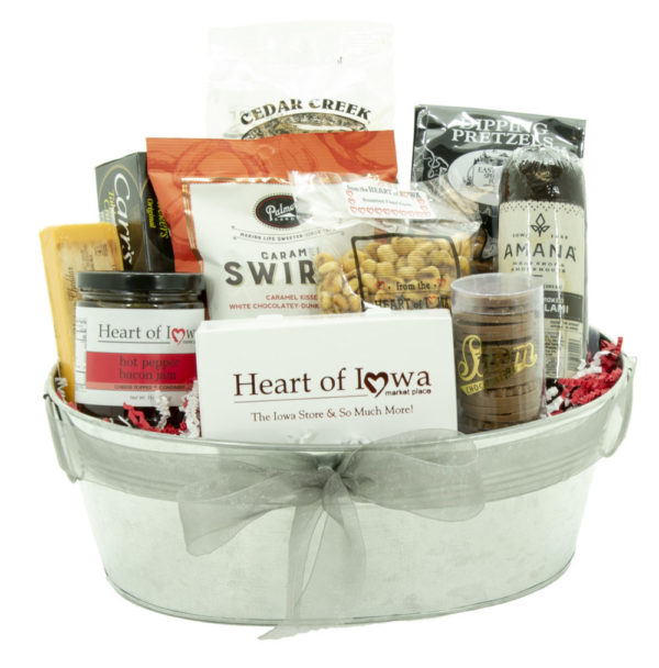 Hearty Party Gift Basket