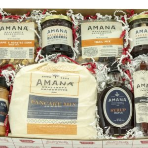 Amana Favorites Box, Shop Iowa, gift box