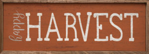 Happy Harvest - Kendrick Home Wood Sign, Fall sign, Shop Iowa