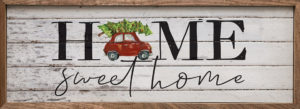 Home sweet Home - Kendrick Home Wood Sign