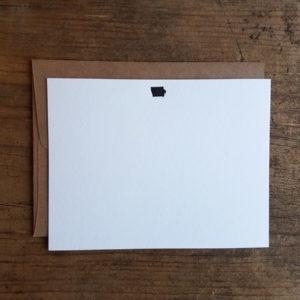 Iowa Letterpress Notecard Set of 10