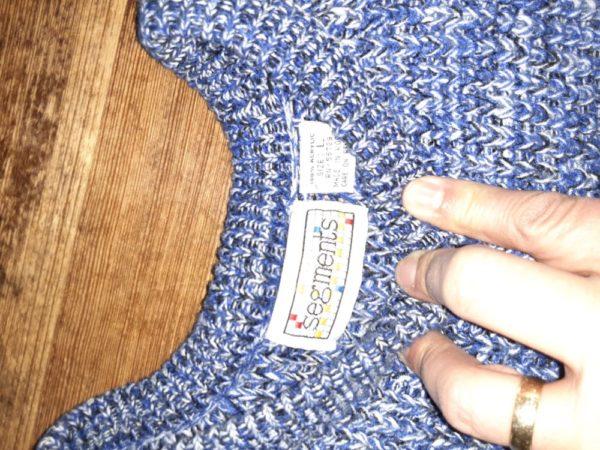 Vintage Oversized Unisex Pullover Sweater Size Large