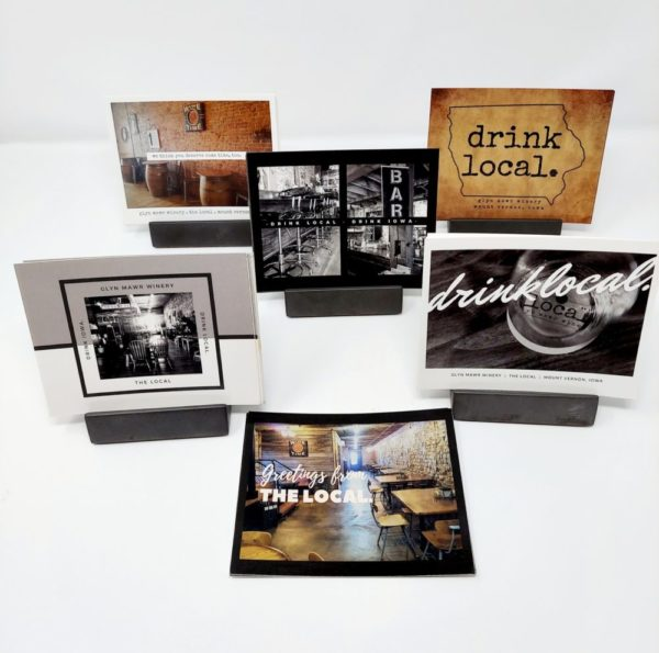Drink Local Postcard collection on shopiowa.com