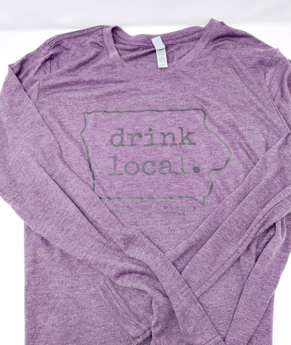 Drink Local Long Sleeve Tee