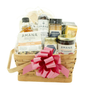 Amana Favorites Food Gift Basket on shopiowa.com