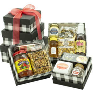 Taste of Iowa Tower Gift Basket on shopiowa.com