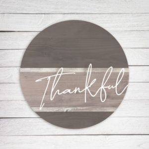 photo of Thankful Circle - Kendrick Home Wood Sign, Shop Iowa
