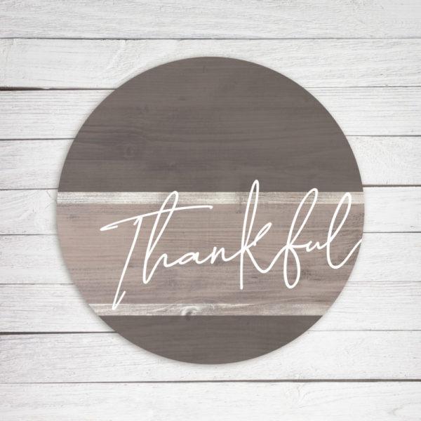 Thankful Circle – Kendrick Home Wood Sign
