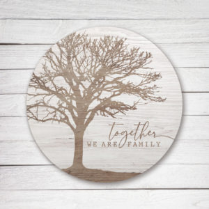 photo of Together We are Family - Kendrick Home Wood Sign, Shop Iowa