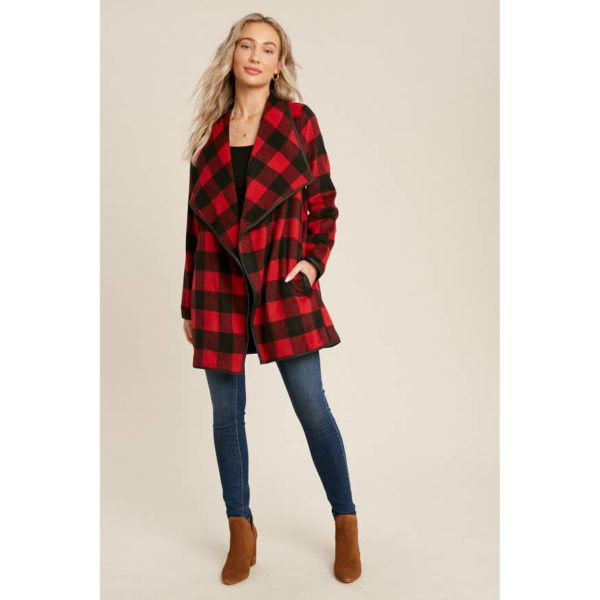Flannel Flyaway Jacket – Buffalo Check