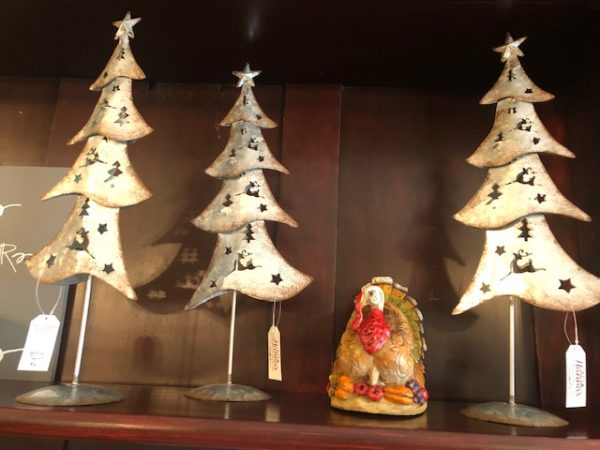 Metal Holiday Tree Decoration on Shop Iowa