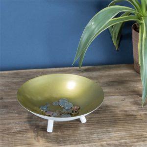 Modern Brass Bowl on shopiowa.com