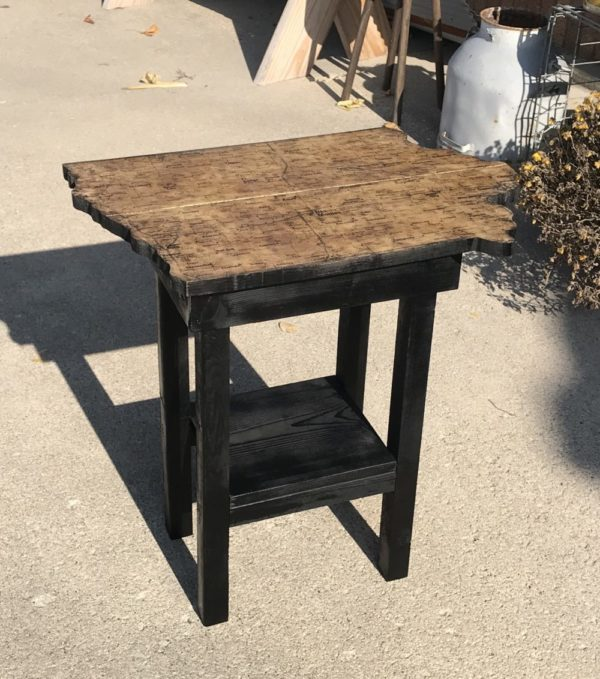 photo of Iowa Map End Table