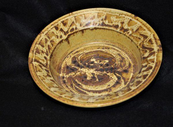 Golden Bowl by Artist Henry Serenco