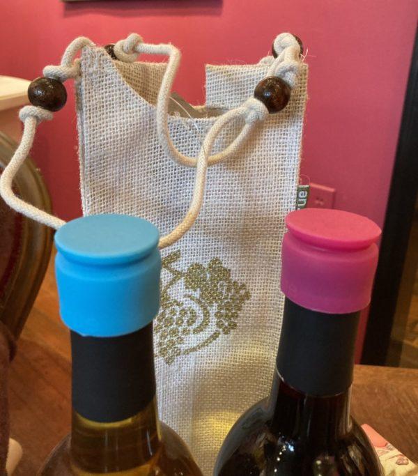 Wine Bottle Tops (Set of Four)