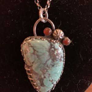 Southwest Turquoise Necklace One of a Kind