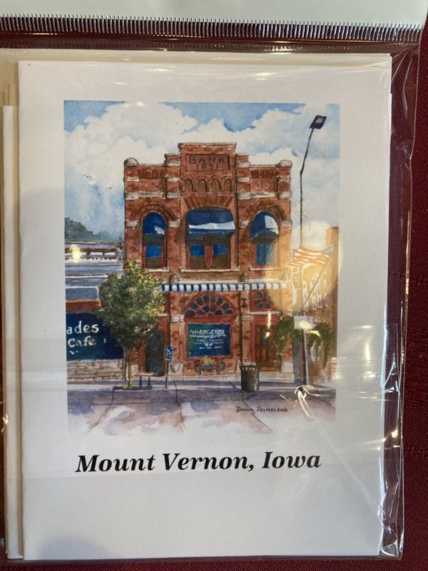 Mount Vernon Iowa Note Cards – Assorted