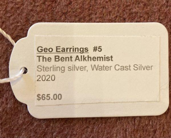Geo Earrings One of a Kind