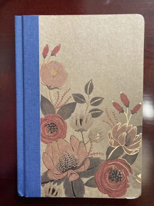 Notebook – Journal Hard Bound – Floral