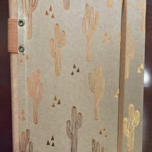 Journal Date book Cactus Hard Bound