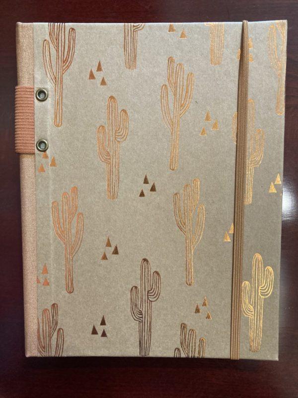 Journal Date book Cactus Hard Bound