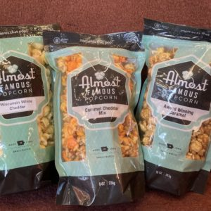 Trio of Almost Famous Popcorn