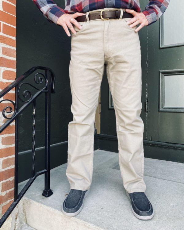 Grand River Khaki Stretch Jeans (191)