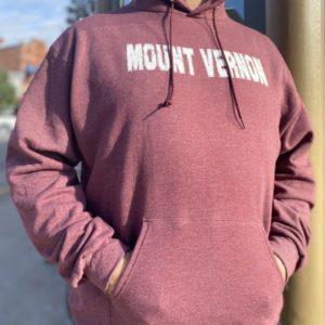 Mount Vernon Maroon Hoodie