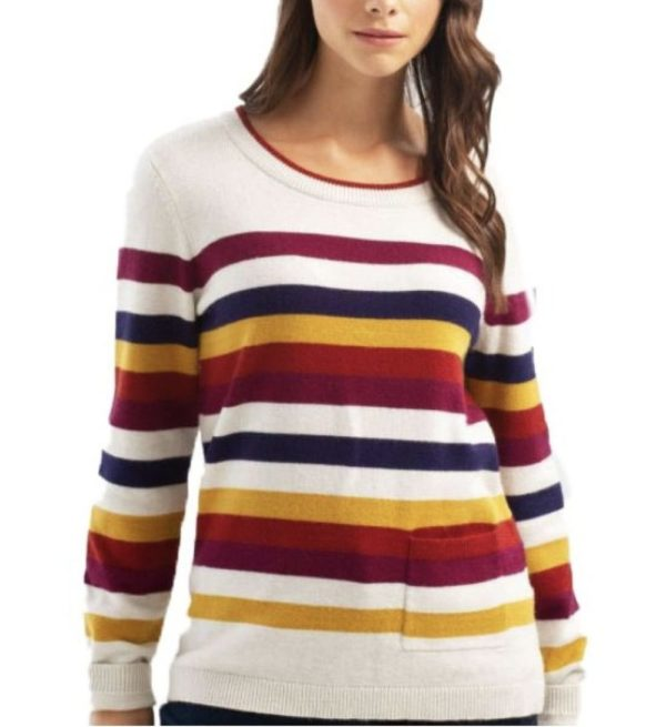 Fall Striped Sweater by Charlie B