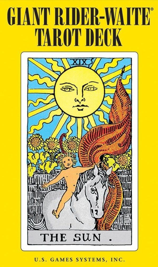 Giant Rider-Waite Tarot Cards