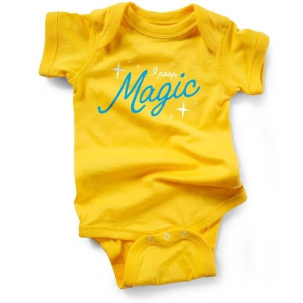 I Poop Magic Baby onesie 0-6 months