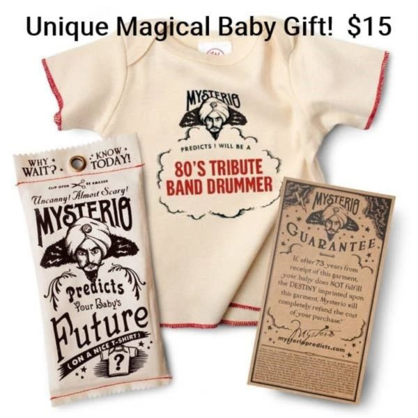 Mysterio's Fortune Teller Baby T-shirt 0-12M