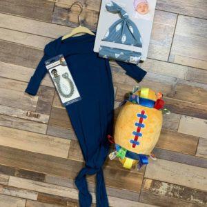 0 – 3 Month Sailor Blue Outfit Set