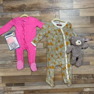 3 – 6 Month Footie Sleepers